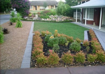 Our expert landscapers can not only lay the turf for you but also design and install planter beds, paving and retaining walls