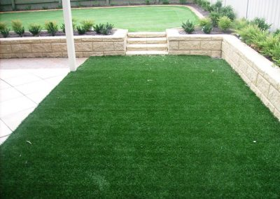 Instant or Synthetic - what's your pick? If you are after a hassle-free, no-maintenance lawn, opt for synthetic lawn like this suburban Adelaide client