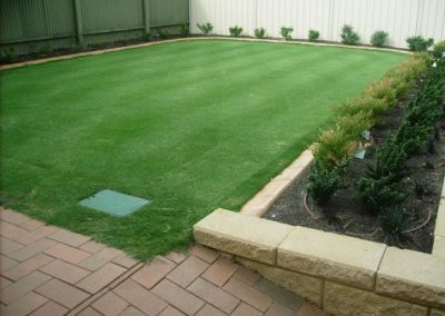 We installed this instant lawn in one of our suburban Adelaide client's backyard