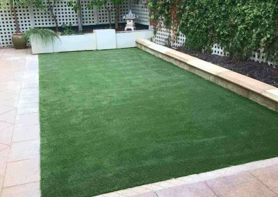 Give your loved ones the gift of nature like this suburban Adelaide client did with Tim's synthetic lawn