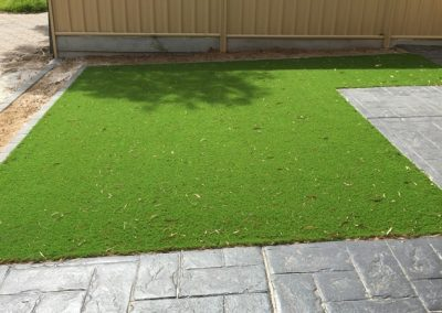 Instant lawn laid for a suburban Adelaide client's home