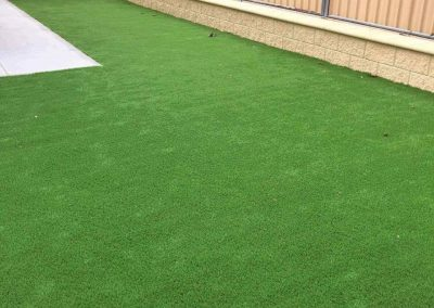 This Adelaide Hills client wanted to do away with the hassle of lawn mowing and maintenance - our high quality tuf synthetic lawn served the purpose