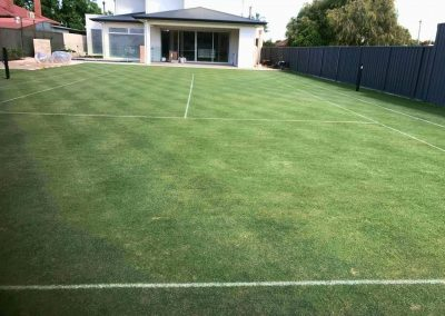 We provide annual and periodic lawn maintenance services to a number of commercial and government clients like this sports club in Norwood, Adelaide